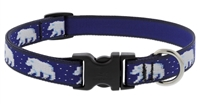 "LupinePet Polar Paws 13-22"" Adjustable Collar - Medium Dog"