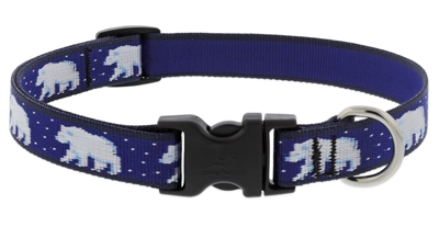 "Lupine 3/4"" Polar Paws 13-22"" Adjustable Collar"