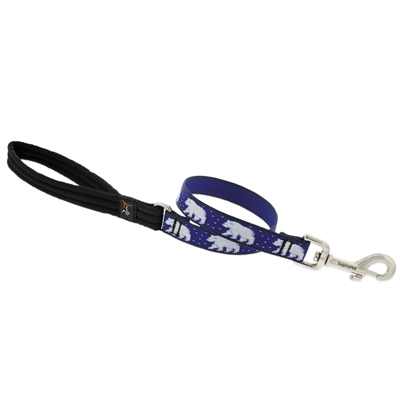 "Lupine 3/4"" Polar Paws 2' Traffic Lead"
