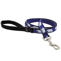 "Lupine 3/4"" Polar Paws 6' Padded Handle Leash"
