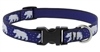 "Lupine 3/4"" Polar Paws 9-14"" Adjustable Collar"