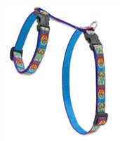 "Retired Lupine 1/2"" Peace Pup 9-14"" H-Style Cat Harness"