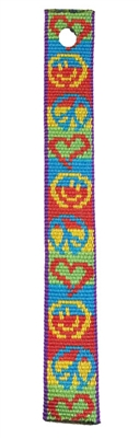 "Lupine 3/4"" Peace Pup Bookmark - Includes Matching Tassel"