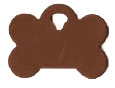 Bone Pet Tag - Aluminum Small