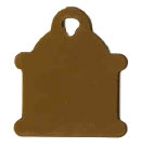 Hydrant Pet Tag - Aluminum Large
