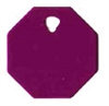 Octagon Pet Tag - Aluminum Large