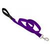 "Lupine 1"" Purple 4' Padded Handle Leash"