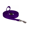 "Lupine 1/2"" Purple Training Lead (15' or 30')"