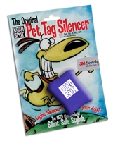 Quiet Spot Tag Silencer - Blue