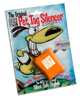 Quiet Spot Tag Silencer - Orange