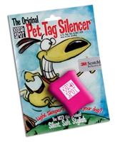 Quiet Spot Tag Silencer - Pink