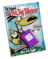 Quiet Spot Tag Silencer Purple