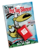 Quiet Spot Tag Silencer - Red