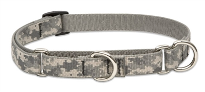 "Retired Lupine ACU (Army Combat Uniform) 14-20"" Combo/Martingale Training Collar - Medium Dog"