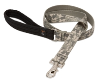 "Retired Lupine 1"" ACU (Army Combat Uniform) 4' Padded Handle Leash - Large Dog"