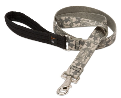 "Retired LupinePet 1"" ACU (Army Combat Uniform) 6' Padded Handle Leash - Large Dog"