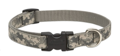 "Retired Lupine 3/4"" ACU  9-14"" Adjustable Collar"