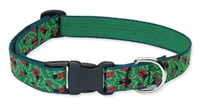 "Retired LupinePet 3/4"" Beetlemania 12-20"" Adjustable Collar - Medium Dog"