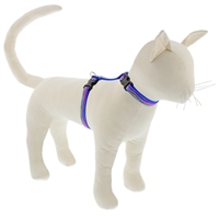 "Lupine 1/2"" Ripple Creek 12-20"" H-Style Cat Harness"