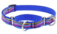 "Lupine 3/4"" Ripple Creek 14-20"" Martingale Training Collar"