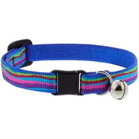 "Lupine 1/2"" Ripple Creek Cat Safety Collar with Bell"