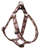 "Retired Lupine Camo Chic 24-38"" Step-in Harness - Large Dog"