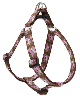 "Retired Lupine 1"" Camo Chic 24-38"" Step-in Harness"
