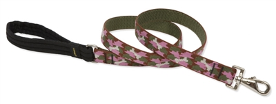"Retired Lupine 1"" Camo Chic 4' Long Padded Handle Leash"