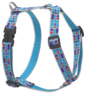"Retired Lupine City Lights 12-20"" Roman Harness - Medium Dog"