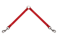 "Lupine Red 9"" Coupler for Small Dogs"