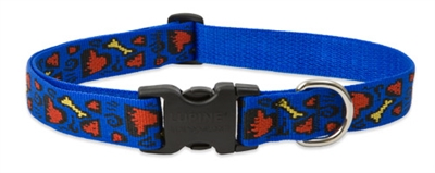 "Retired Lupine Doggie Dreams 25-31"" Adjustable Collar - Large Dog"
