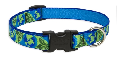 "Retired Lupine 3/4"" Earth Day 15-25"" Adjustable Collar"