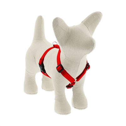 "Lupine 1"" Red 20-32"" Roman Harness"