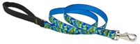 "Retired Lupine 3/4"" Earth Day 4' Padded Handle Leash"