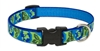 "Retired Lupine Earth Day 9-14"" Adjustable Collar - Medium Dog"
