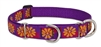 "Retired Lupine Flower Box 15-22"" Combo/Martingale Training Collar - Large Dog"