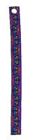 "Retired Lupine 1/2"" Flutterby Bookmark - Includes Matching Tassel"