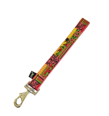 Retired Lupine Flower Patch Training Tab - Large Dog