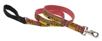 Retired LupinePet Flower Patch 6' Long Padded Handle Leash - Large Dog