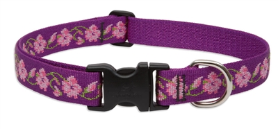 "Lupine  1"" Rose Garden 12-20"" Adjustable Collar"