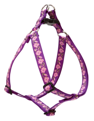 "Lupine 1"" Rose Garden 24-38"" Step-in Harness"