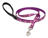 "Lupine 1/2"" Rose Garden 4' Padded Handle Leash"