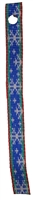 "Retired Lupine 1/2"" Let it Snow Bookmark - Includes Matching Tassel"