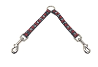"Lupine Love Struck 9"" Coupler for Small Dogs"