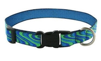 "Retired Lupine New Wave 15-25"" Adjustable Collar - Medium Dog"