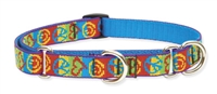 "Retired Lupine 3/4"" Peace Pup 10-14"" Martingale Training Collar"