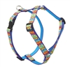 "Retired Lupine Peace Pup 12-20"" Roman Harness - Medium Dog"