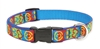 "Peace Pup 15-25"" Adjustable Collar-Medium Dog"