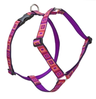 "Retired Lupine 1"" Ruby Cube 24-38"" Roman Harness"