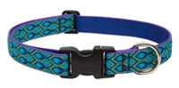 "Lupine Originals 1"" Rain Song 16-28"" Adjustable Collar for Medium and Larger Dogs"